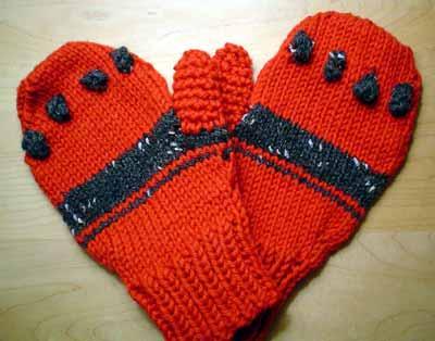 Pair of mittens