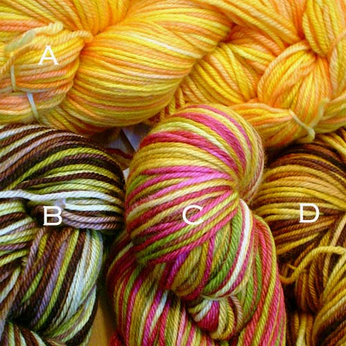 Cider Moon yarns