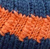 Player stitch detail