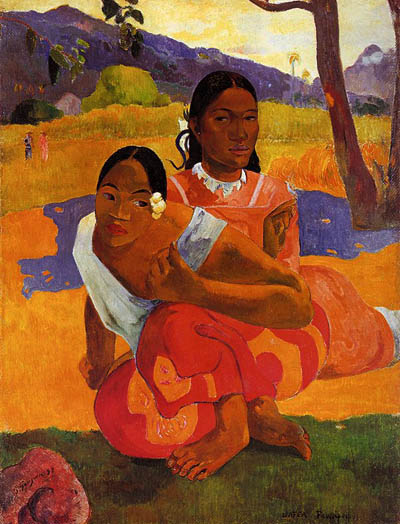 """When will you marry?"" - Paul Gauguin"
